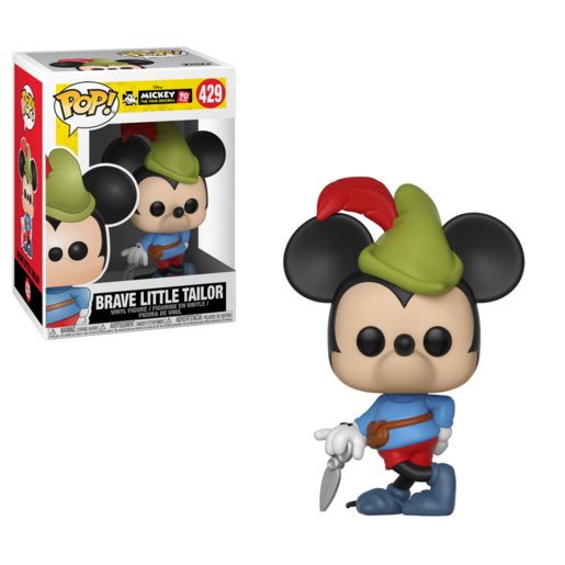 Funko Pop! Disney: Mickey's 90th Anniversary - Brave Little Tailor Mickey