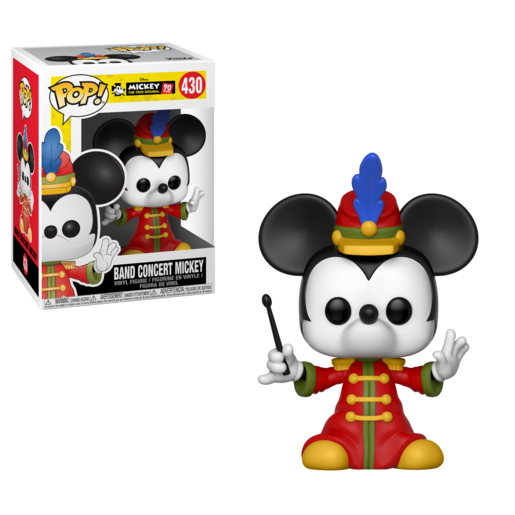 Funko Pop! Disney: Mickey's 90th Anniversary - Band Concert Mickey