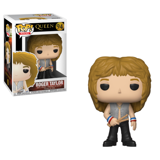 Funko Pop! Rocks: Queen - Roger Taylor