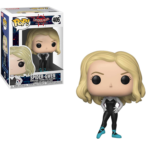 Funko Pop! Marvel: Spider-Man Into The Spiderverse - Spider-Gwen Bobble-Head