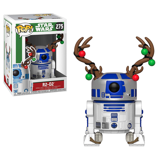 Funko Pop! Star Wars - R2-D2 Christmas Bobble-Head