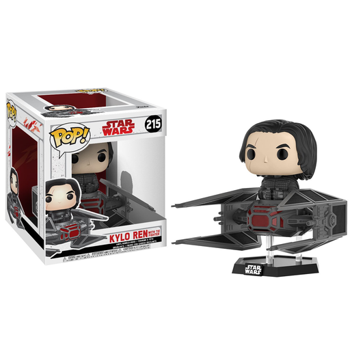 Funko Pop! Star Wars: The Last Jedi - Kylo Ren with Tie Fighter (Bobble-Head)
