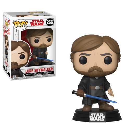 Funko Pop! Star Wars: The Last Jedi - Luke Skywalker Bobble-Head