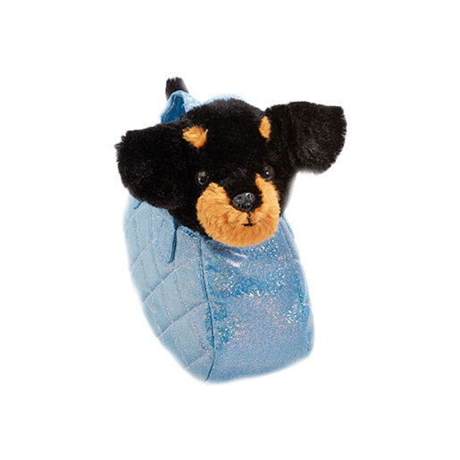 Snuggle Buddies Carry Around Pals - Black Dog