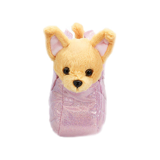 Snuggle Buddies Carry Around Pals - Brown Dog from TheToyShop