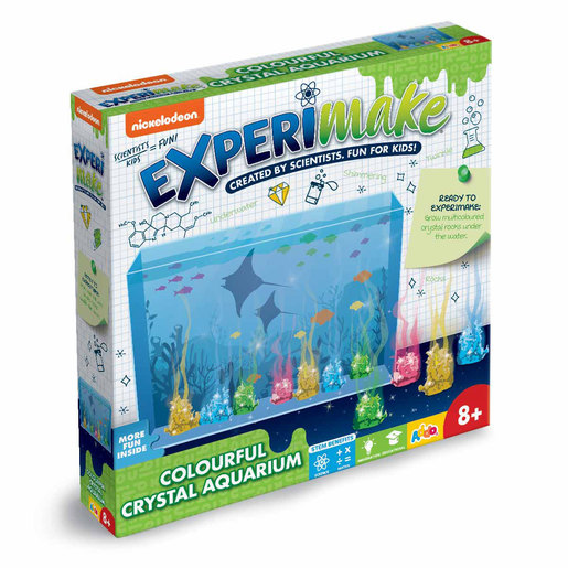 Nickelodeon Experimake Colourful Crystal Aquarium