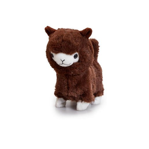 Pitter Patter Pets Lively Little Llama Plush Toy - Brown