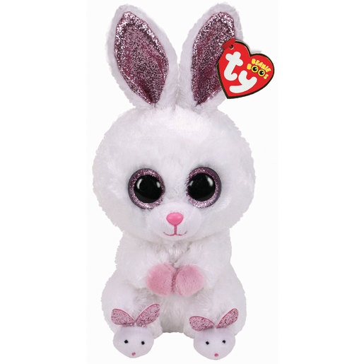 Ty Beanie Boo 24cm Soft Toy - Bunny Easter Slipper