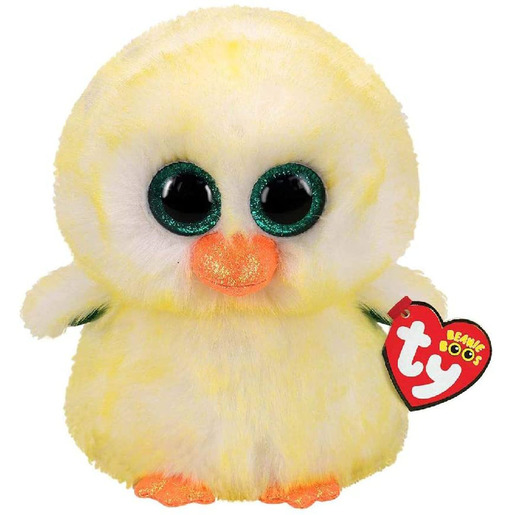 Ty Beanie Boo 24cm Soft Toy - Lemon Drop Easter Chick