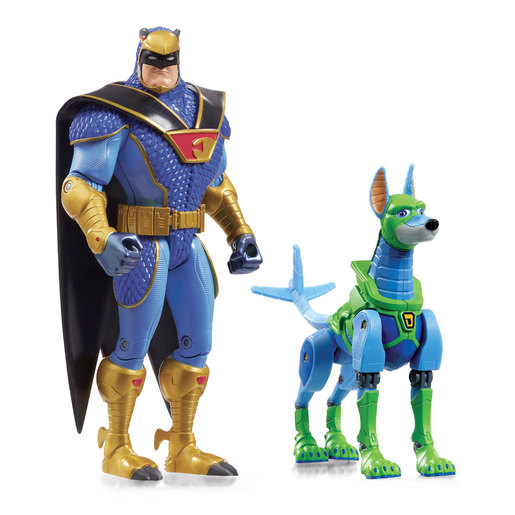 Scoob! Action Figure 2 Pack - Blue Falcon and Dynomutt