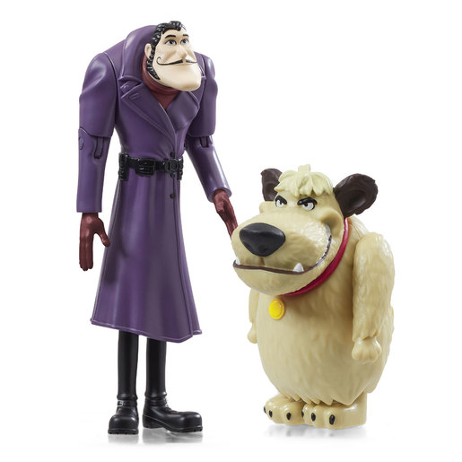 Scoob! Action Figure 2 Pack - Dick Dastardly and Muttley