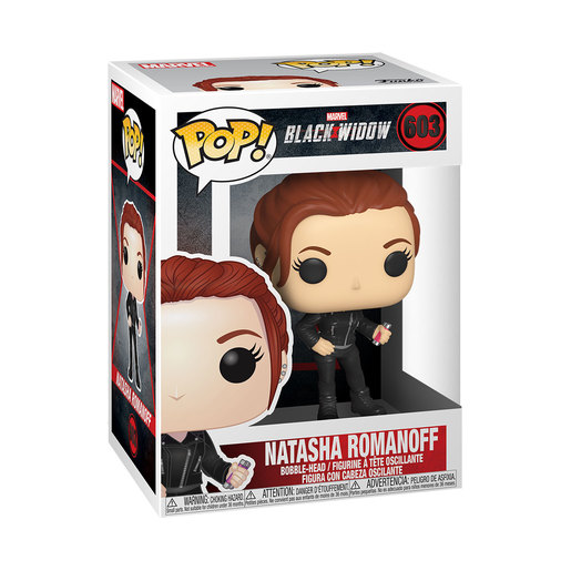 Funko Pop! Marvel: Black Widow - Natasha Romanoff Bobble-Head