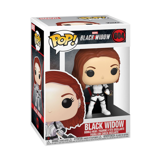 Funko Pop! Marvel: Black Widow - Black Widow Bobble-Head