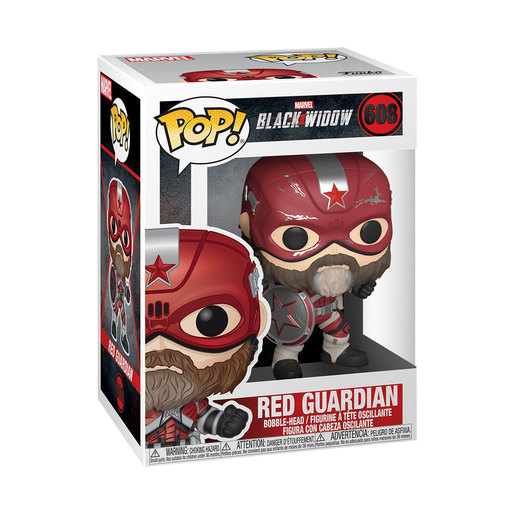 Funko Pop! Marvel: Black Widow - Red Guardian Bobble-Head