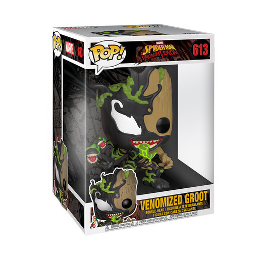 Funko Pop! Marvel: Spider-Man Maximum Venom - Super Sized 25cm Venomized Groot Bobble-Head