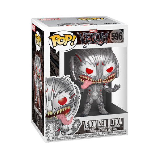 Funko Pop! Marvel: Venom - Venomized Ultron Bobble-Head