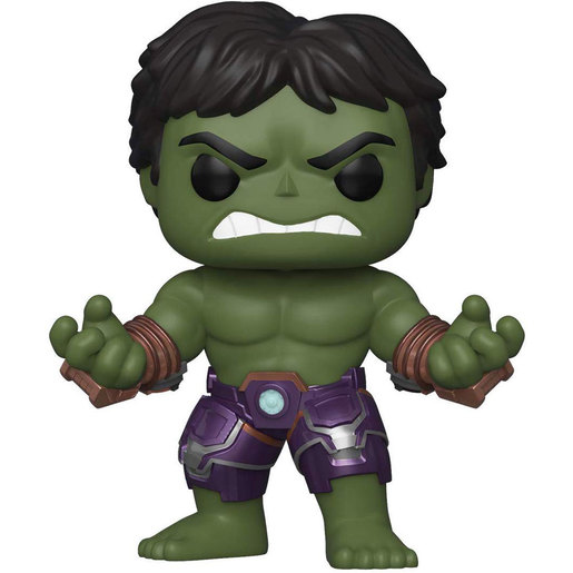 Funko Pop! Games: Marvel Avengers Games - Hulk (Stark Tech Suit)