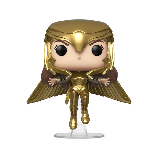 Funko Pop! Movies: Wonder Woman 1984 - Wonder Woman Gold Flying Pose