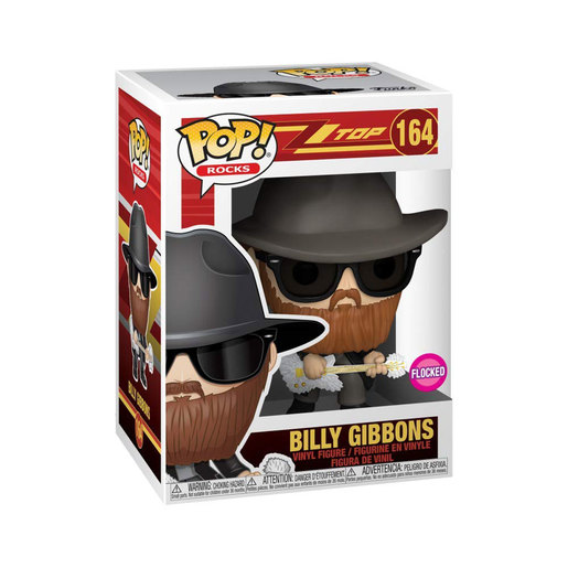 Funko Pop! Rocks: ZZ Top - Billy Gibbons