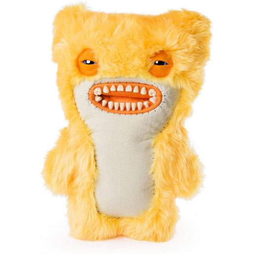 Fuggler 30cm Monster Soft Toy - Awkward Yellow Fur Monster