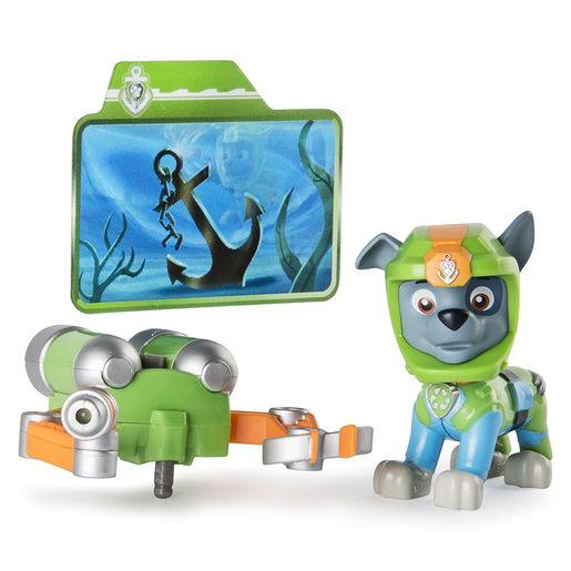 Paw Patrol Sea Patrol Light Up Figure - Rocky