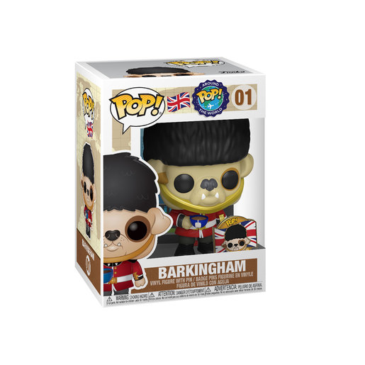 Funko Pop! Around The World - Barkingham Dog with Pin (Exclusive)