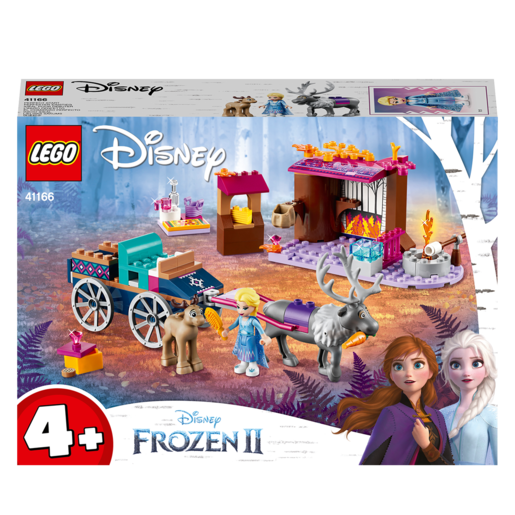 LEGO Disney Frozen II Elsa's Wagon Adventure Toy - 41166