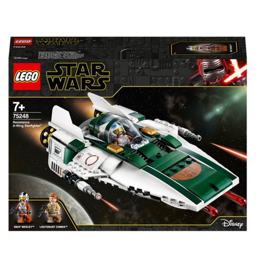 LEGO Star Wars Resistance A-Wing Starfighter Set - 75248