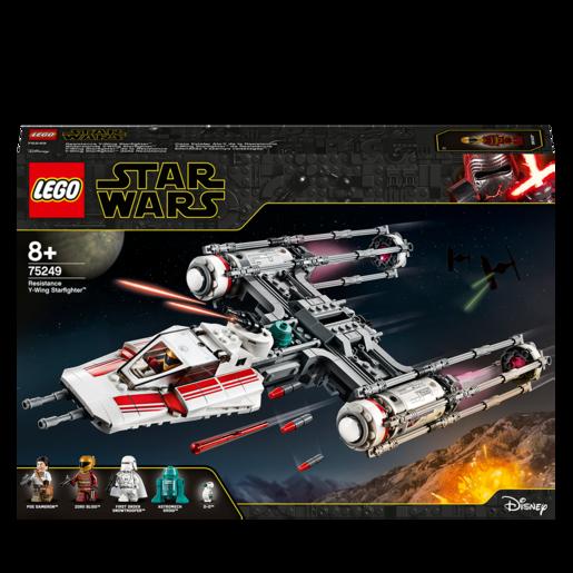 LEGO Star Wars Resistance Y Wing Starfighter Set   75249
