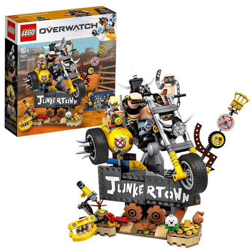 LEGO Overwatch Junkrat & Roadhog Figures Set - 75977