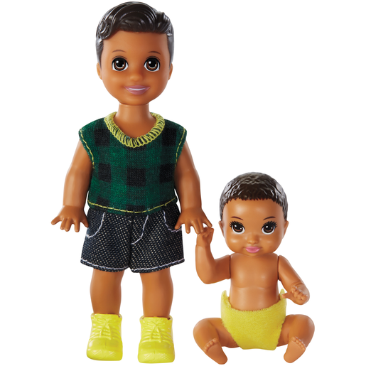 Barbie Skipper Babysitters Inc. Dolls - Checks Top
