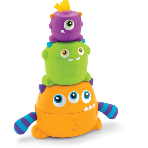 Fisher-Price Stack and Nest Monsters