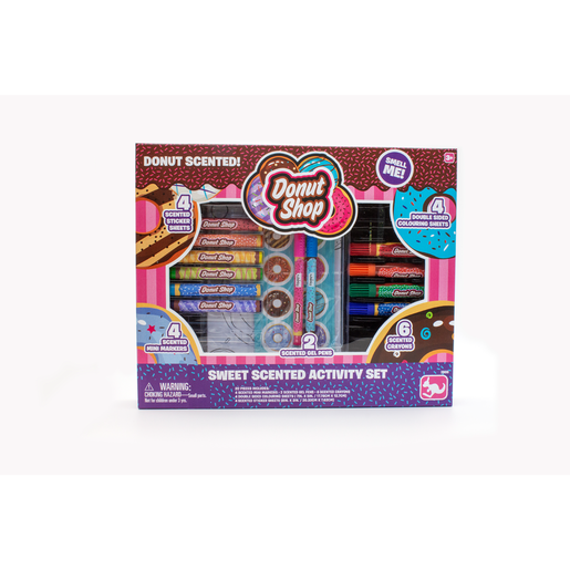Donut Shop Sweet Scented Stationery Activity Set