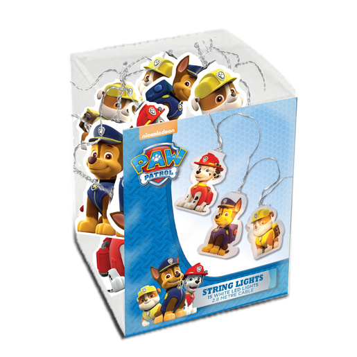 Paw Patrol String Lights 2.8m Cable