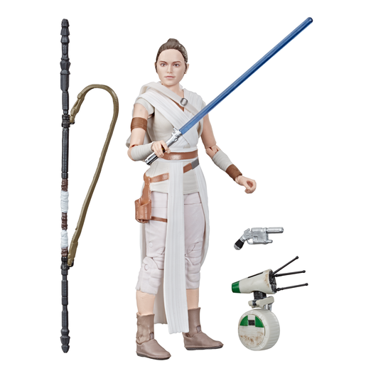Star Wars The Black Series 15cm Figure - Rey and D-O