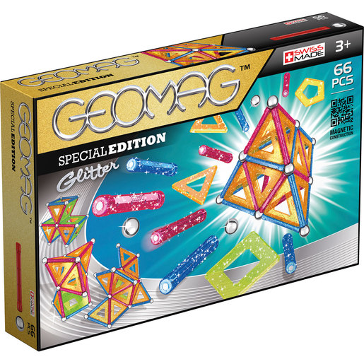Geomag Glitter 66 Piece Set from TheToyShop