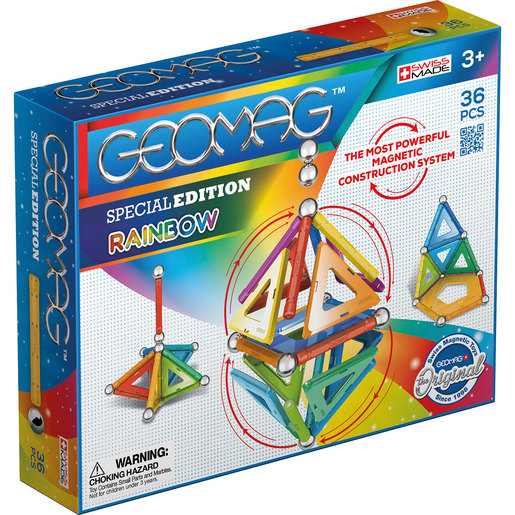 Geomag Rainbow 36 Piece Set