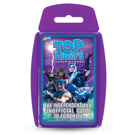 The Independent and Unofficial Guide To Fortnite Top Trumps