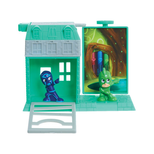 PJ Masks Micro Trap and Escape Playset - Gekko and Night Ninja