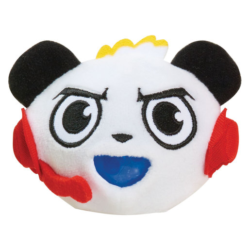 Ryan's World Squishy Bubble Plush - Combo Panda