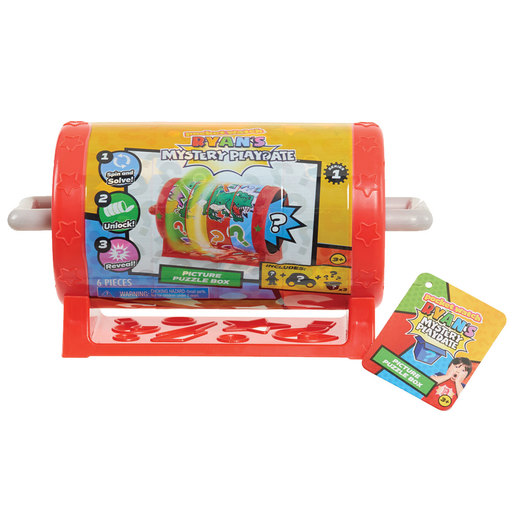 Ryan's World Mystery Playdate Picture Puzzle Box (Styles Vary)