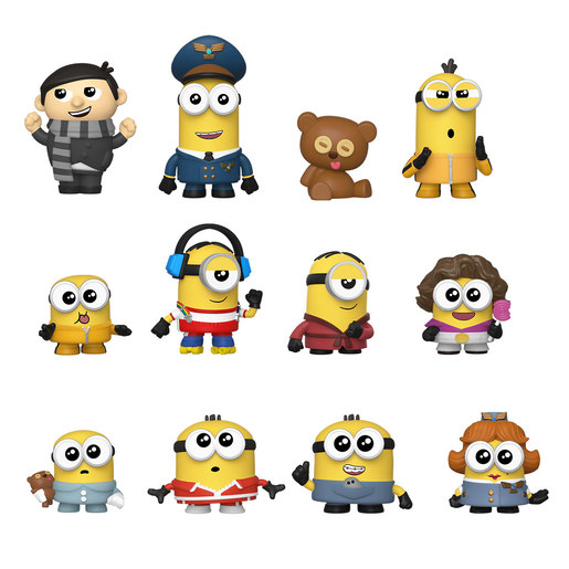Funko Mystery Minis Figures: Minions The Rise of Gru (Styles Vary)