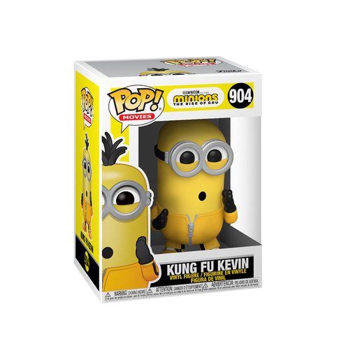 Funko Pop! Movies: Minions The Rise of Gru - Kung Fu Kevin