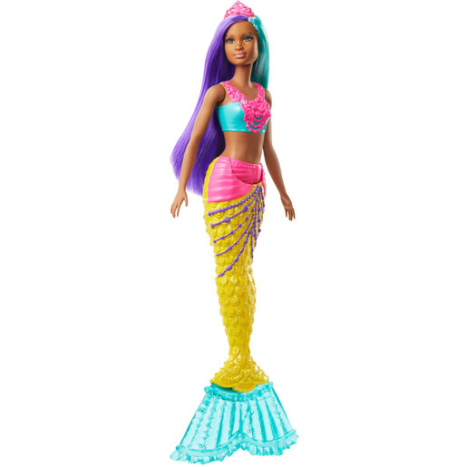 Barbie Dreamtopia Mermaid Doll - Pink Crown