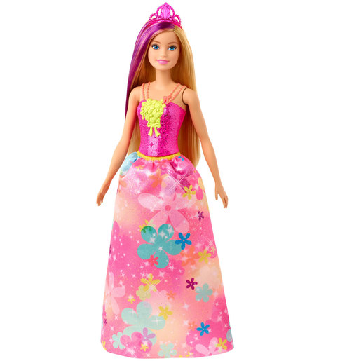 Barbie Dreamtopia Princess Doll - Blonde Hair and Flower Dress