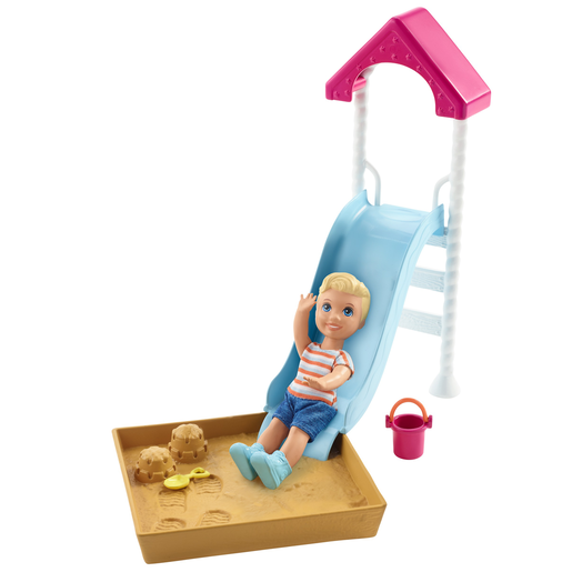 Barbie Skipper Babysitters Doll & Playground Playset
