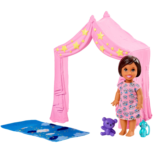 Barbie Skipper Babysitters Doll & Bedtime Playset