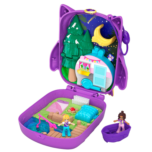 Polly Pocket Owlnite Campsite