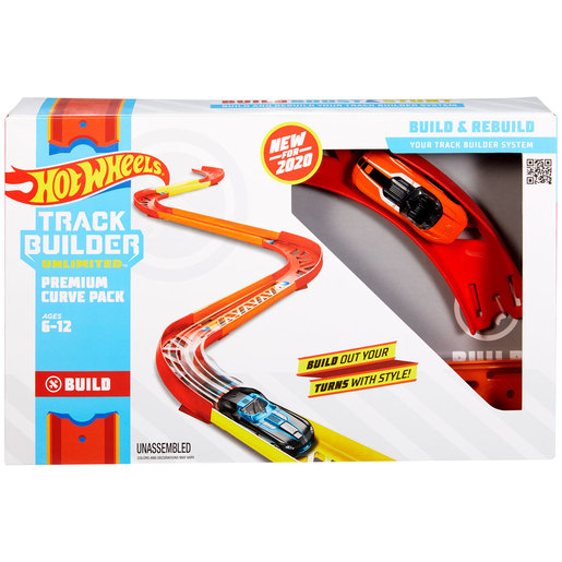 Hot Wheels Track Builder Unlimited - Premium Curve Pack