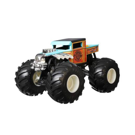 Hot Wheels Monster Trucks 1:24 Vehicle - Boneshker